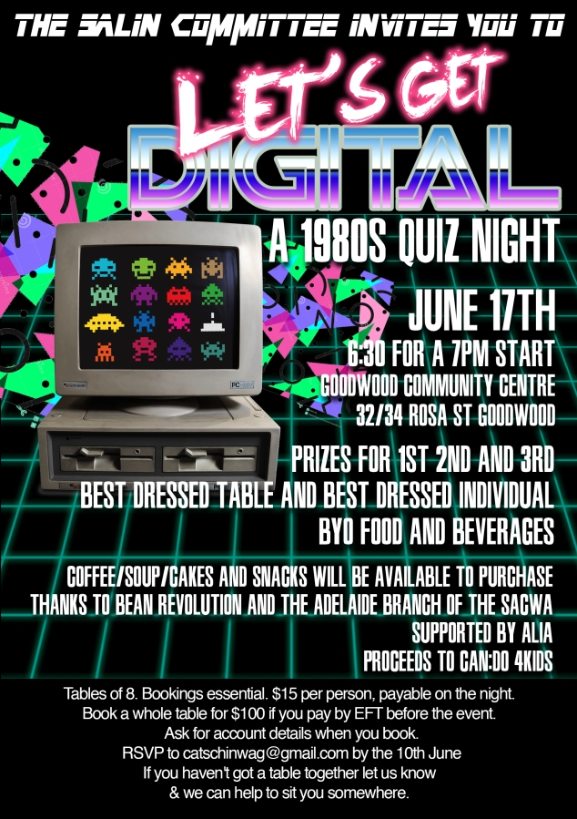 2016 Quiz Night: Let's Get Digital!