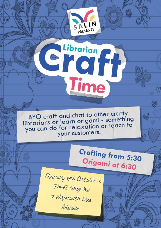 Librarian Craft Time