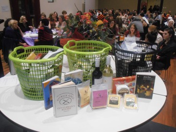 Prize baskets, courtesy of our sponsors