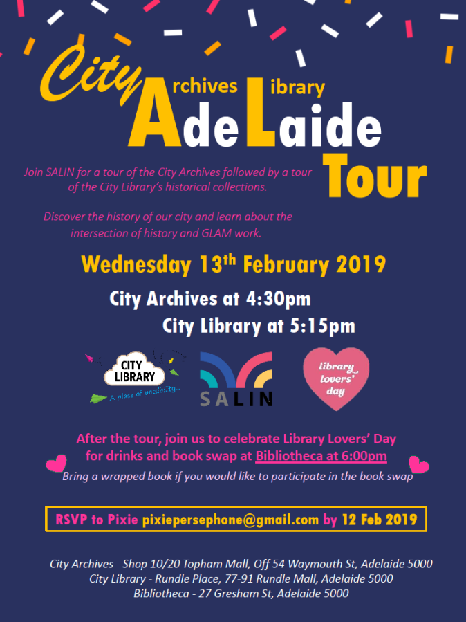 Library Lovers' Day: double history tour + drinks